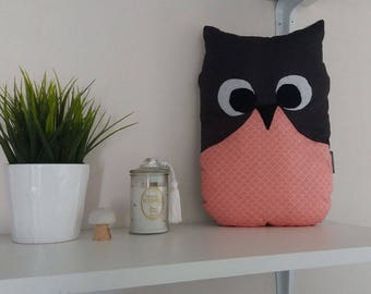 SALE Plush Pillow OWL Leona-10% with coupon code: SOLDESSUMMER10