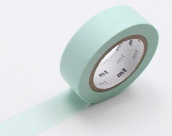 MT Mint Pastel Washi Tape MT Solid Tapes MT 2016 Spring & Summer Collection