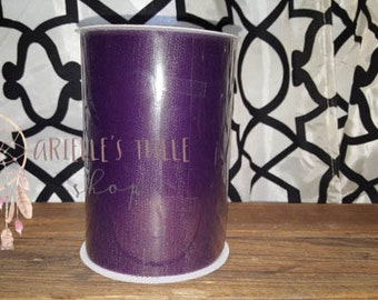 6x100 Yard Tulle Roll- EGGPLANT / PLUM PURPLE