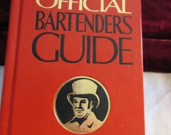 Mr Boston Deluxe Official Bartenders Guide, 1981, 61st edition, new, revised, pics, illustrations, recipes, techniques, impress your friends