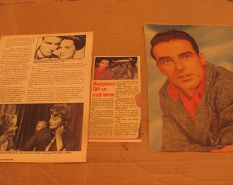 MONTGOMERY CLIFT    clippings  #0217