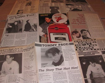 TOMMY PAGE   CLIPPINGS  #0314