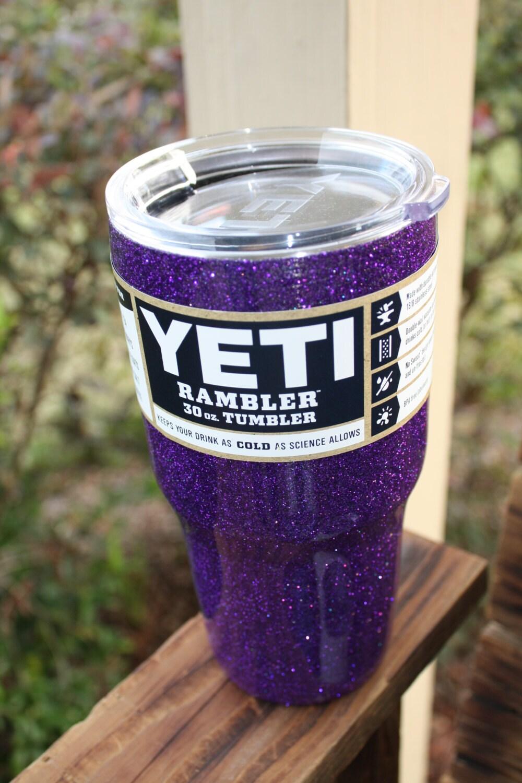 Glitter Yeti Cup