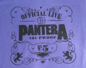 Pantera Retro Custom Made NovelTee by vaporpodd.com