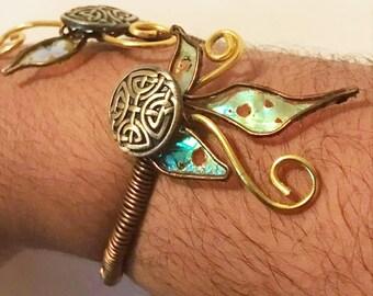 Open bracelet * magical *.