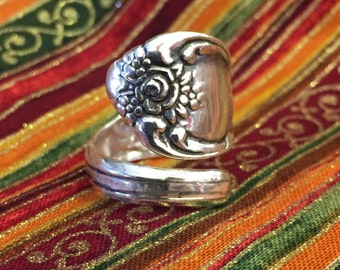 Sterling silver (925) spoon ring, Spoon Ring, Vanessa replica