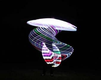 """Super Ice  LED Hoop 36"""" Travel hoop"""