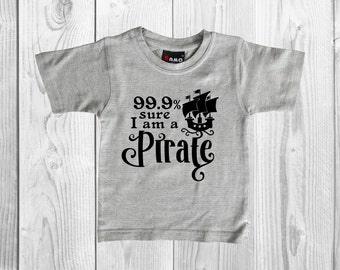 Pirate Tee - Pirate Shirt - I am a Pirate Tee - Trendy Shirt - Boy Pirate - Girl Pirate - Im a Pirate Shirt - Sibling Shirt - Baby Pirate