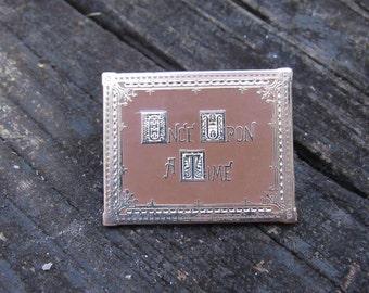 "Story Book - Enamel Pin - 1.5"" OUAT, Emma Swan, Rumplestiltskin, Prince Charming"