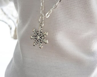 18 Inch Doll Clothes Snowflake Necklace