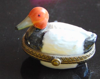 Midwest of Cannon Falls created this Pintail Duck trinket box