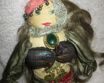 cloth belly dancer gypsy, tribal
