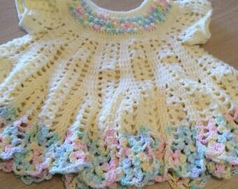 Little girls dress  croched