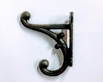 rustic hooks , rustic hook, cast iron hook, cast iron hooks, antique hooks, antique hook, towel hook, vintage hook, wall hook, coat hooks