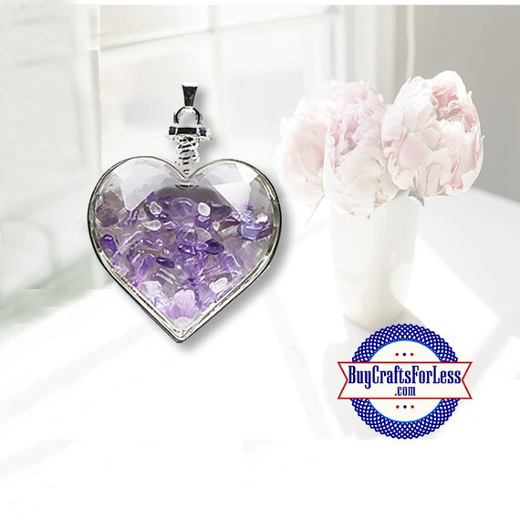 CLEARANCE Crystal PENDANT, Reiki, Natural Amethyst +99cent SHIPPING & Discounts*
