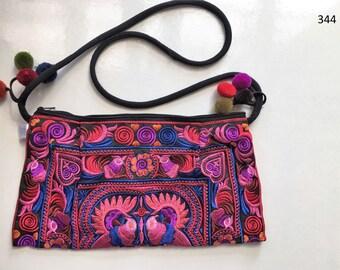 Handbag Bag  Purse  Handmade Wallet shoulder Embroidered