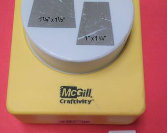 McGill Craftivity Multi-Square Paper Punch Paper Shapers