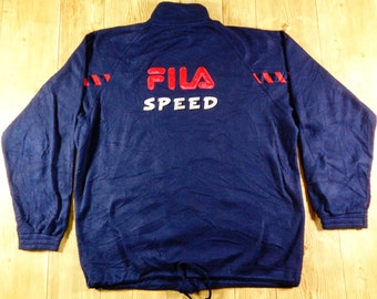 20% OFF Vintage FILA Speed Zipper Jacket Rare