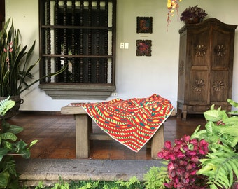 FAIR TRADE handwoven blanket from Guatemala