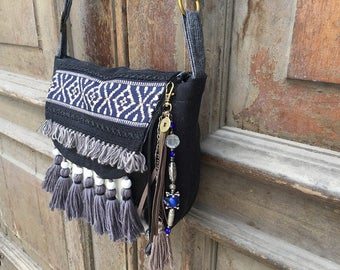 boho messenger bag/ bohemian hip bag /slouchy hand bag/hippie sling bag/large boho bag /cross body bag/ gypsy slouch bag/ gypsy festival bag