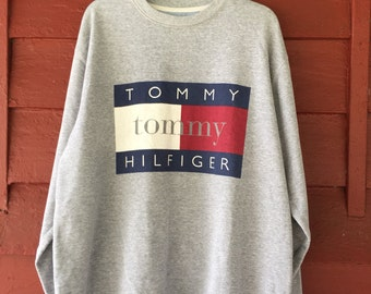 TOMMY HILFIGER Big Logo Sweatshirt (L)