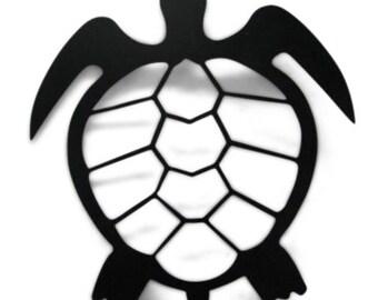 Turtle Metal Silhouette