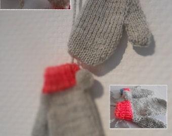 Baby mittens, 2/3 years