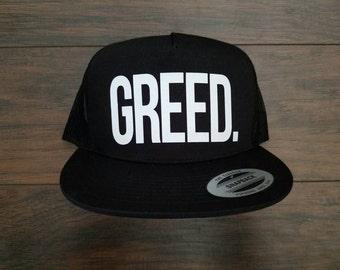 Greed Mesh Snapback