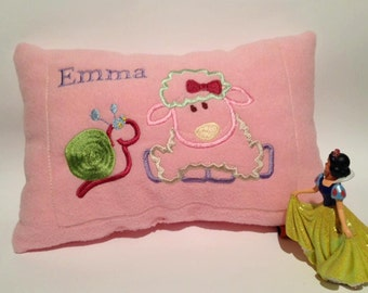 Baby pillows embroidered with Auger and sheep