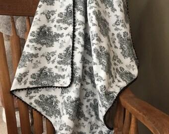 Baby blanket; Flannel Baby Blanket; Baby Girl Blanket