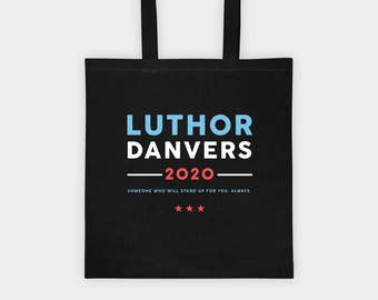 Supercorp Tote Bag | Luthor-Danvers 2020 | Supergirl TV Show