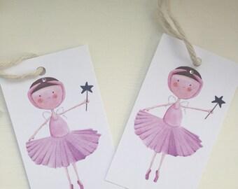 Fairy Girl Gift Tags