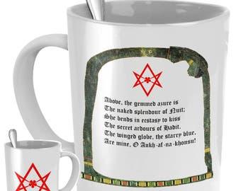Esoteric coffee mug - Nuit Goddess Thelema tea cup