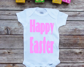 Easter Onesie,  Happy Easter onesie, First Easter, Easter shirts, Easter shirt, Little girl Easter, Easter baby onesie, baby girl, girl top