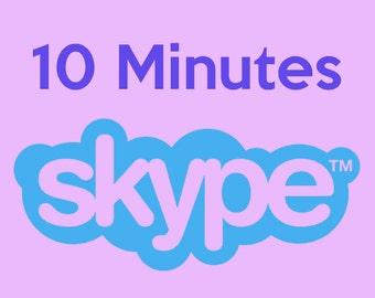 10 Minute Skype