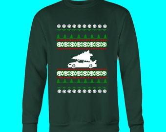 Mitsubishi Lancer Evolution Evo 8 9 Ugly Christmas Sweater VIII IX JDM