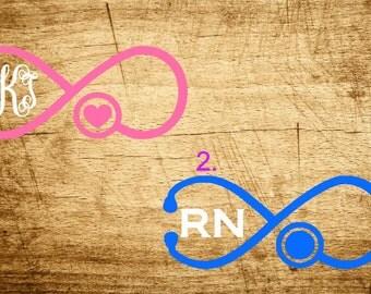 Infinity Nurse Monogram