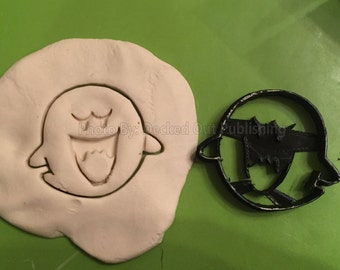 Boo / Boo Diddly / Super Mario Brothers / Cookie Cutter / made in USA