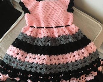 little girl crochet shirt