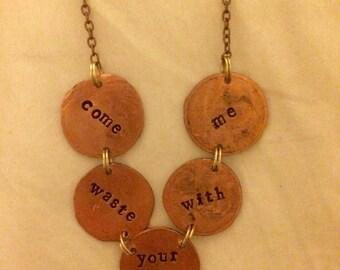 Phish Waste necklace