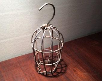 Vintage Industrial Wire Shop Light Cage