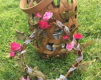 Willow hair wreath