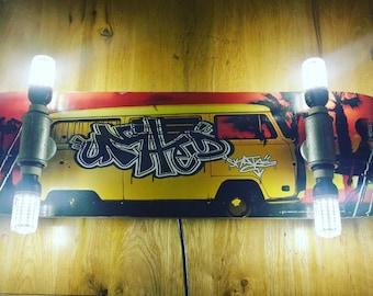 Skateboard light / lamp (custom made or original stock)