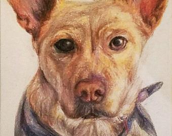 "4""x6"" Custom Pet Portrait"