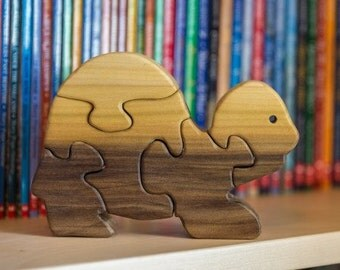 Turtle Wooden Puzzle