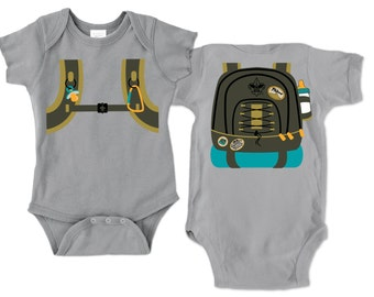 Little Brother Backpack Onesie | Little Sister Backpack Onesie | Scout Family Gear | Little Outdoorsman | Future Cub Scout Onesie