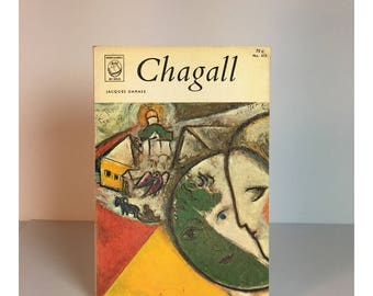 Chagall small vintage paperback 1963