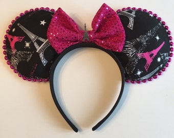Paris inspired mouse ears