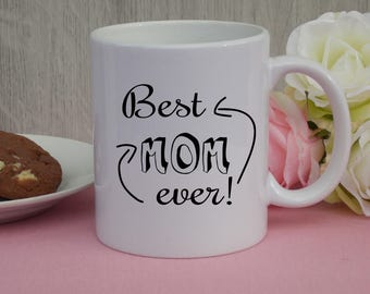 "Mug ""Best Mom ever!""  / Gift / Cup / mother's day"