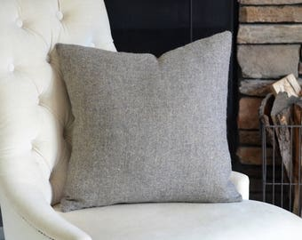 Wool Decorative Throw Pillow Cover